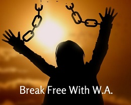 Break Free With W.A. Logo